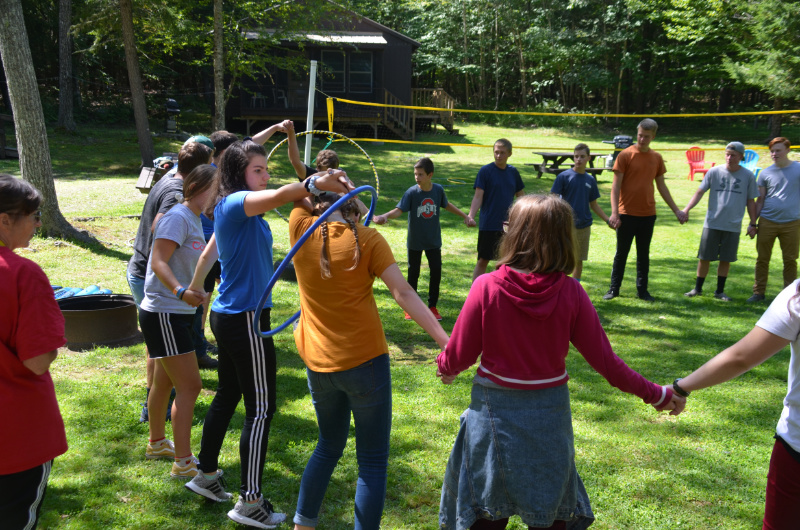 Team Games at Leadership Conference